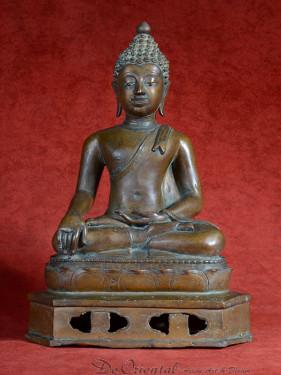 Chiang Saen Boeddha brons