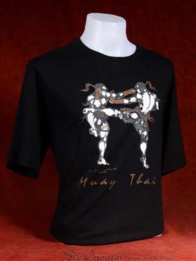 "Muay Thai T-Shirt ""Mon Yan Luk"" zwart"