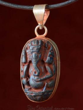 Hanger van Ganesha speksteen