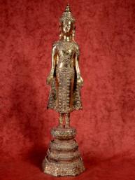 Koning Boeddha verguld Ratanakosin stijl