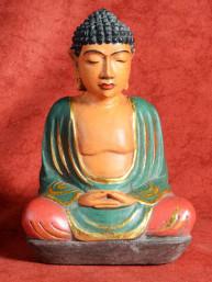 Boeddha in meditatie handmade Indonesie