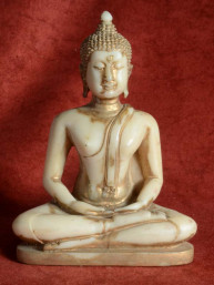 Boeddha in meditatie (donderdag Boeddha)