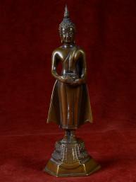 Bronzen Boeddha voor woensdag