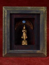 Decoratief 3D schilderijtje met vrijdag Boeddha