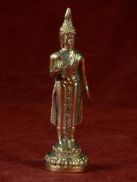 Boeddha miniatuur voor maandag Boeddha messing