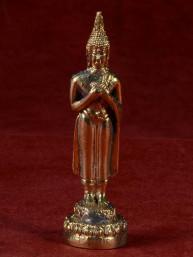 Boeddha miniatuur voor vrijdag messing