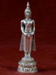 Boeddha miniatuur voor zondag Boeddha vernikkeld