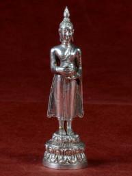 Boeddha miniatuur voor woensdag Boeddha vernikkeld