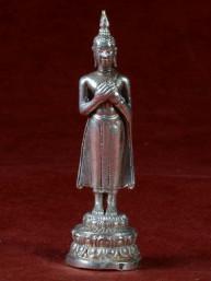 Boeddha miniatuur voor vrijdag vernikkeld