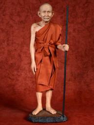 Thaise Monnik Phra Luang Phor Suk Staand