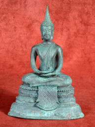 Bronzen Ayuthaya Boeddha