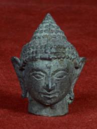 Boeddha hoofdje uit brons