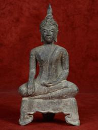 Boeddha brons Ayuthaya stijl