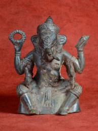 Ganesha loburi stijl brons