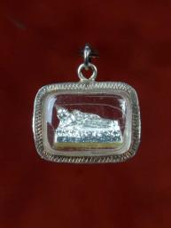 Dinsdag Boeddha amulet zilver
