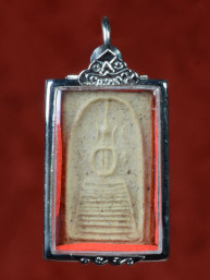 Phra Somdej Keschaiyo amulet met Boeddha