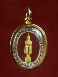Woensdag Boeddha Amulet Goud 18K