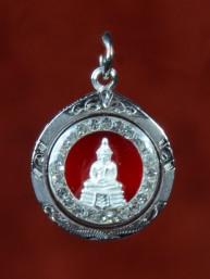 Donderdag Boeddha amulet zilver