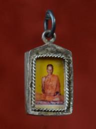 Amulet met afbeelding Phra Luang Phor Muy