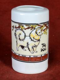 Horoscoopbeker met Chinees Sterrenbeeld Hond
