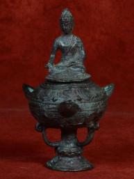 Oliebrander met Boeddha
