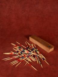 Mikado spel in houten doosje