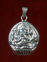 Ganesha hanger zilver