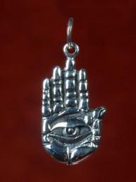 """Fatima's hand met oog """"Hamsa"""""""