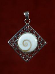 Decoratieve hanger met oog van Shiva