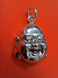 Happy Boeddha hanger 925 sterling zilver groot