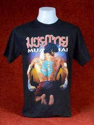Mooi Muay Thai T-Shirt met Thai Boxer