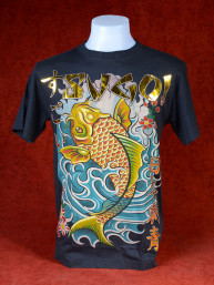 T-Shirt Sugoi met afbeelding van Koikarper