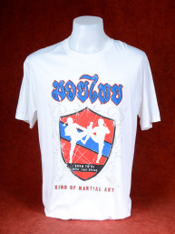 T-Shirt Born the be Muay Thai - King of Martial Art wit