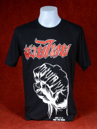 T-Shirt Born the be Muay Thai - Fist
