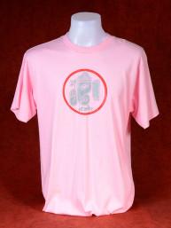 T-Shirt met afbeelding van Ganesha en Om - licht roze