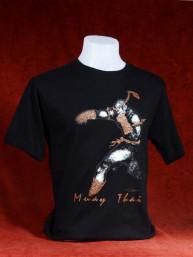 """Muay Thai T-Shirt """"Ka Jig Khai"""" zwart"""
