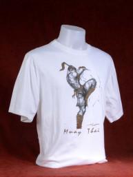 "Muay Thai T-Shirt ""Sila Kratob"" wit"