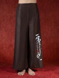 Zen omslagbroek Azumi bruin