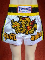 Originele Twins wedstrijd short Muay Thai Golden dragon