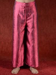 Comfortabele omslagbroek rood