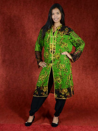 Salwar kameez, Indiase jurk of Punjabi dress groen