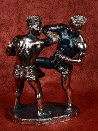 Muay Thai boksers in Hanuman Hugdarn