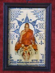 Schilderijtje van Phra Luang Phor Pern