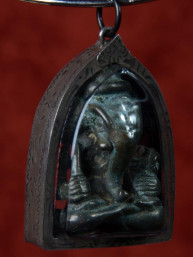 Ganesha amulet brons