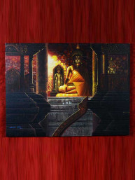 Schilderij op canvas Boeddha in Lanna tempel