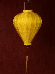 Chinese Lampion Lamp klein geel-goud