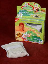 Komkommer zeep in peeling bag