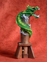 Wierookbrander met draak klein groen