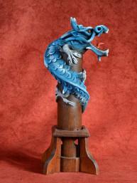 Wierookbrander met draak klein blauw