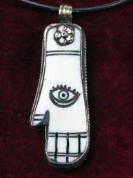 Hand van Fatima of Hamsa amulet
